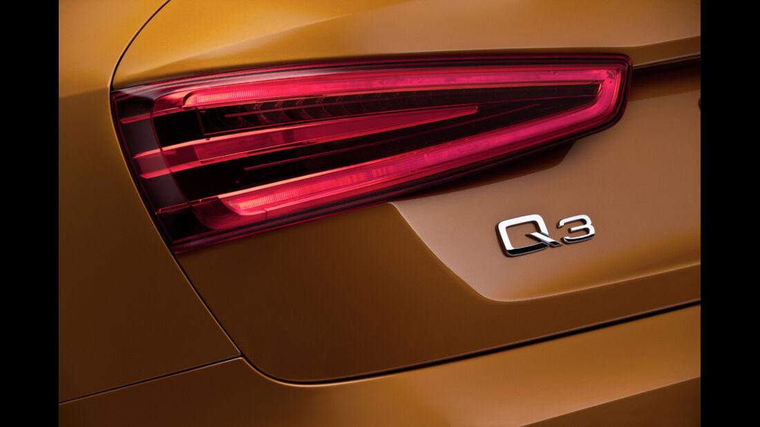 Audi Q3 Rückleuchte