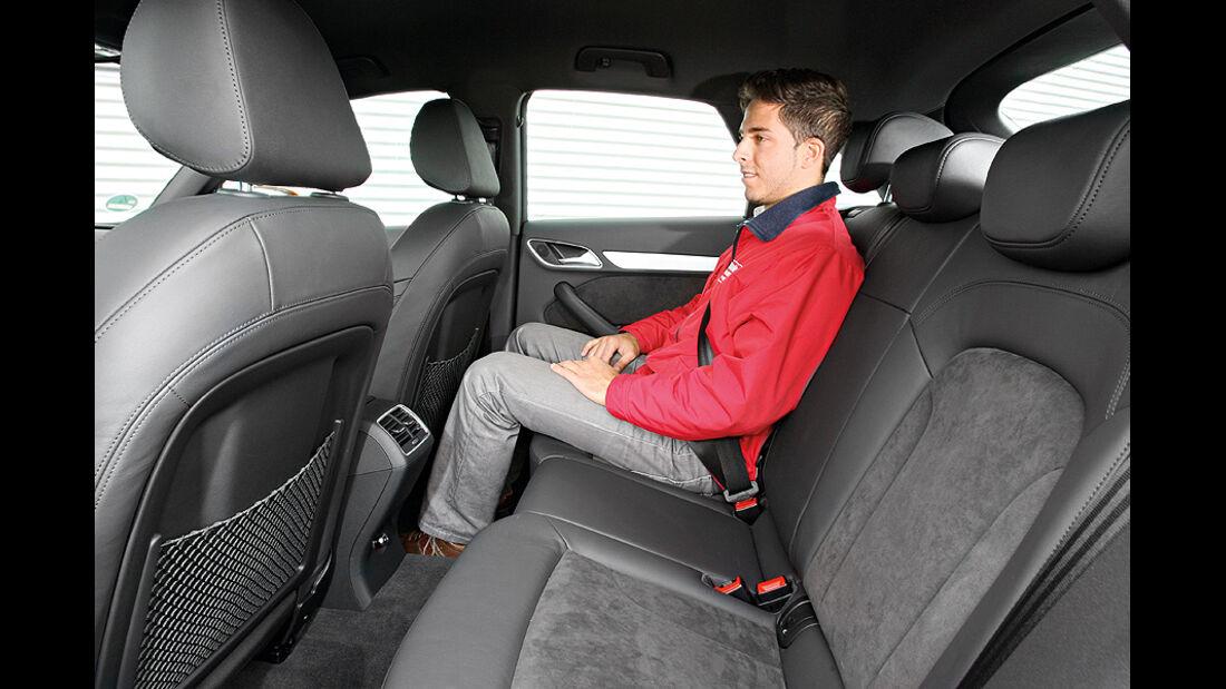 Audi Q3 Rücksitze