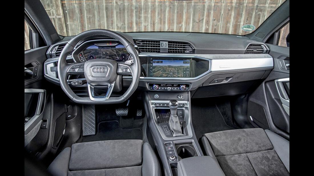 Audi Q3 S Line 45 TFSI Quattro, Interieur