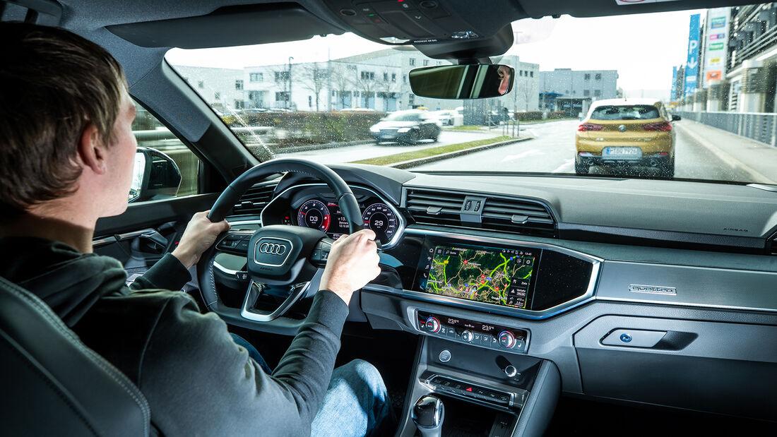 Audi Q3 SB 40 TDI Quattro, Interieur