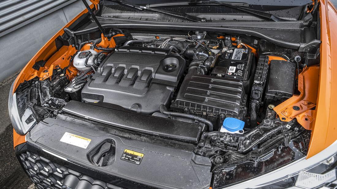 Audi Q3 SB 40 TDI Quattro, Motorraum