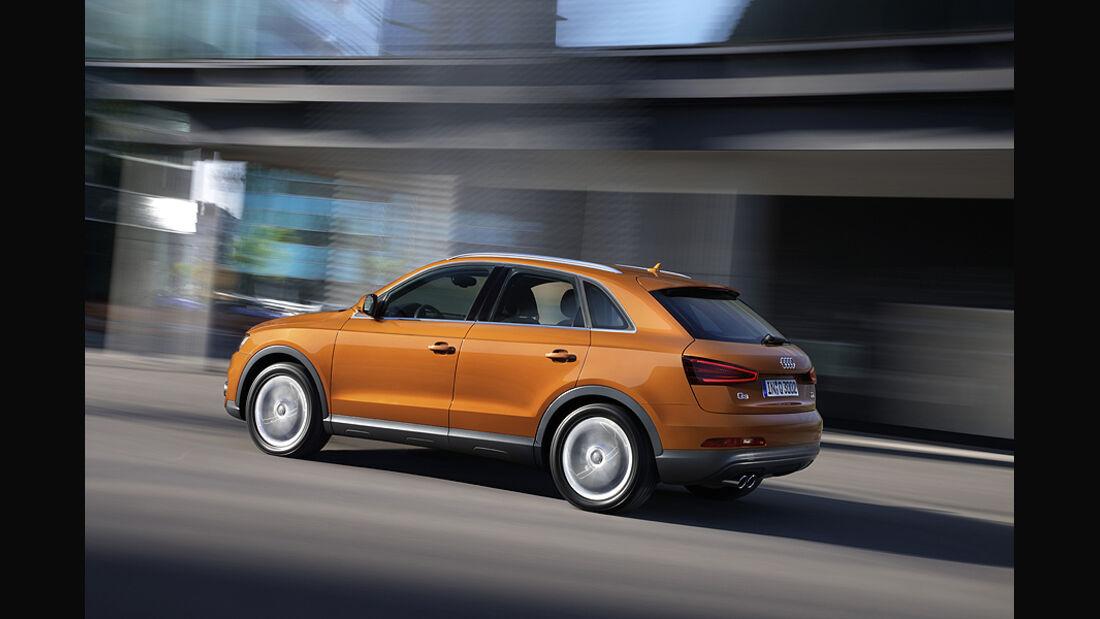 Audi Q3, Seitenansicht
