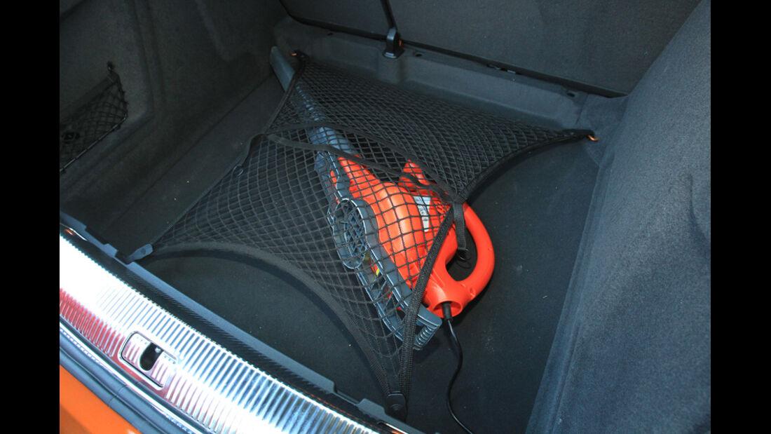 Audi Q3, Spanntuch