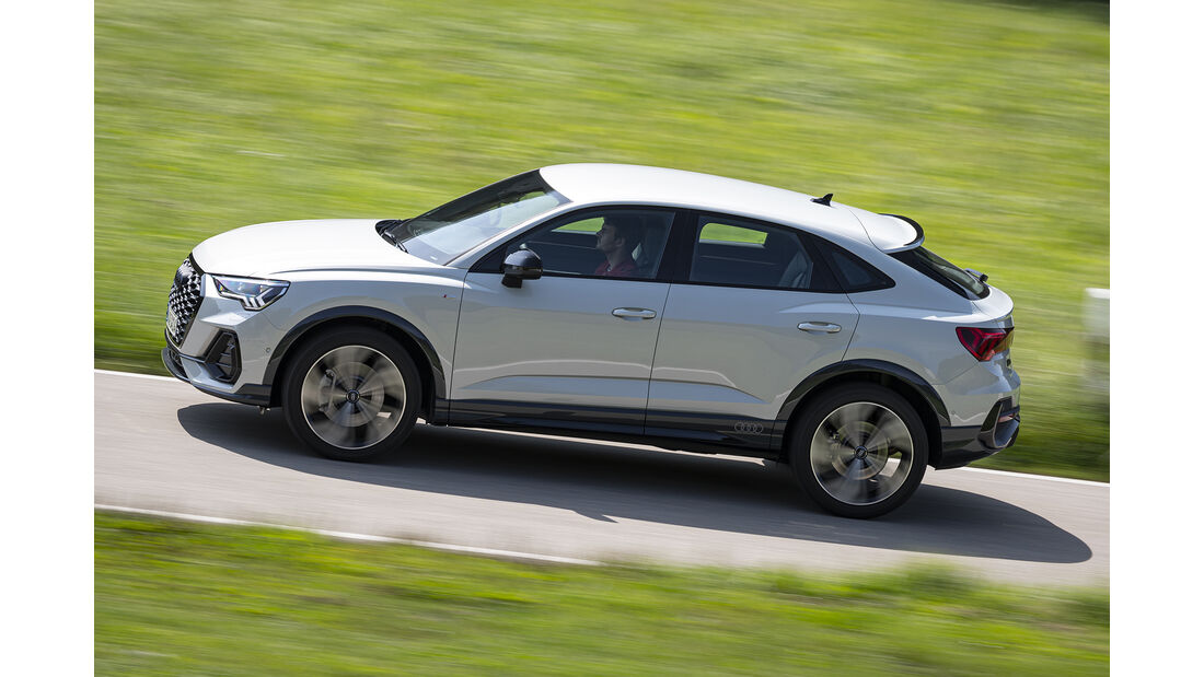 Audi Q3 Sportback 45 TFSI, Exterieur