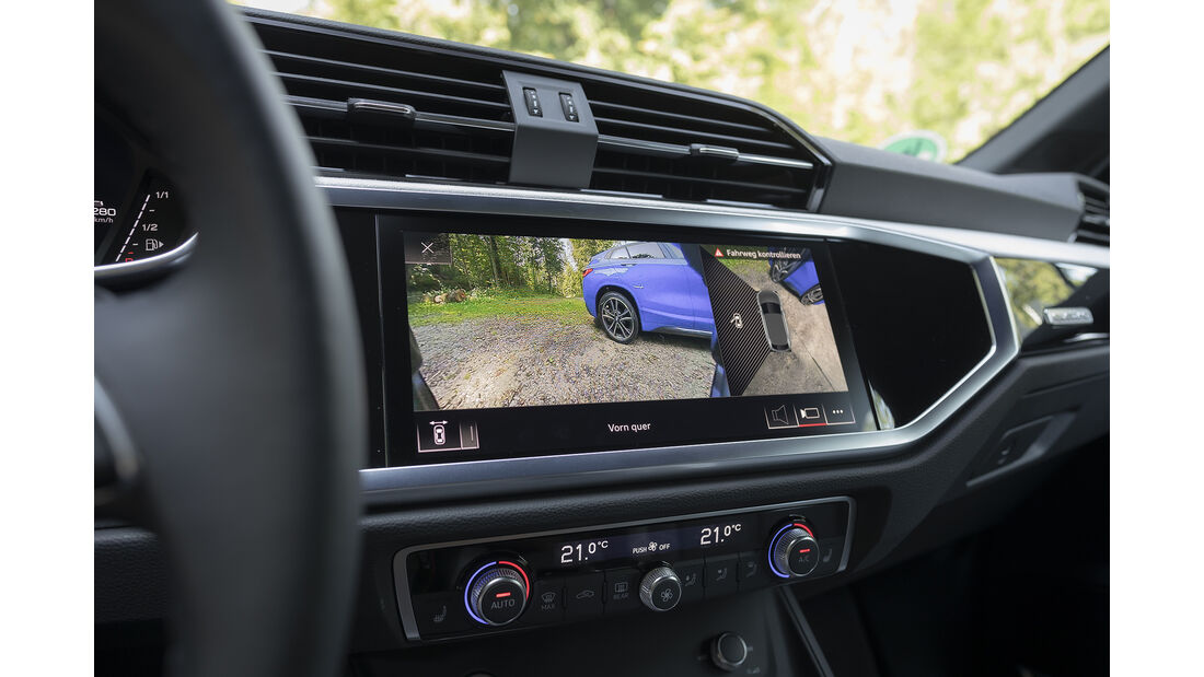 Audi Q3 Sportback 45 TFSI, Interieur