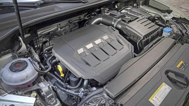 Audi Q3 Sportback 45 TFSI, Motorraum