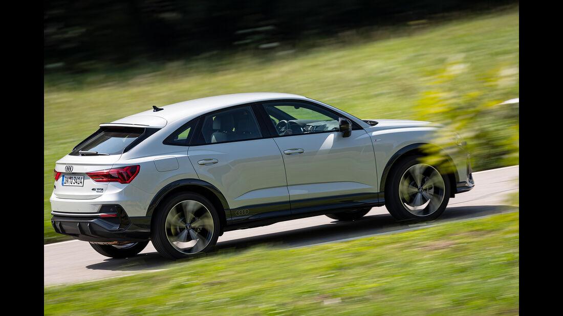 Audi Q3 Sportback, Exterieur