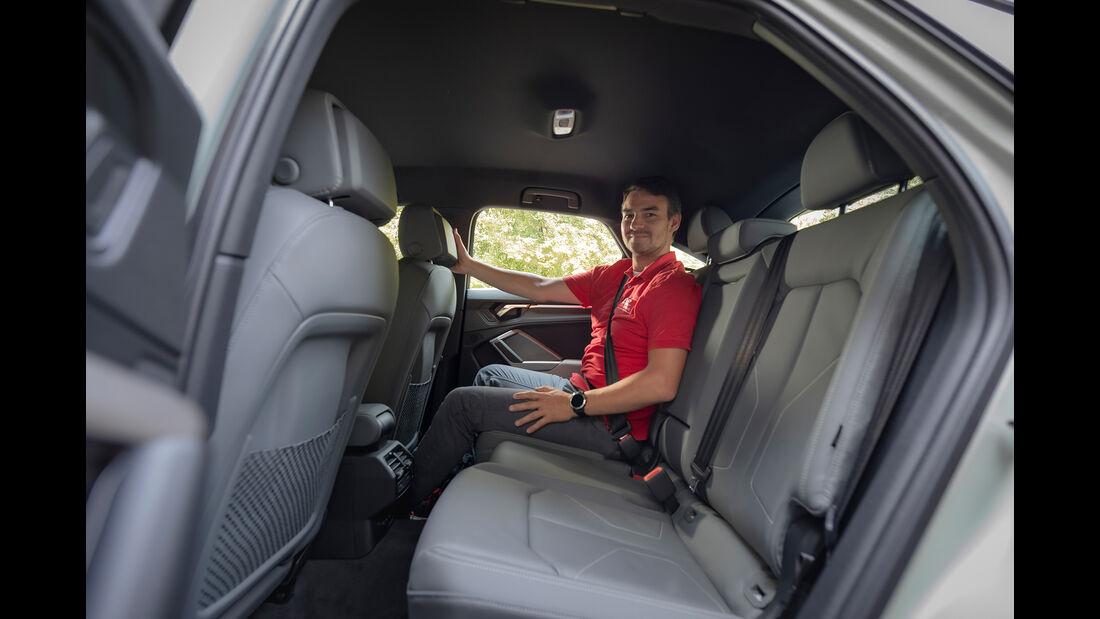 Audi Q3 Sportback, Interieur