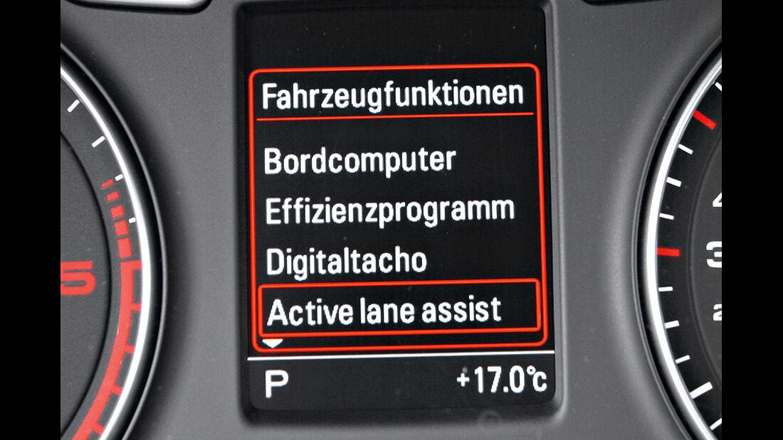 Audi Q3 Spurhalte-Assistent
