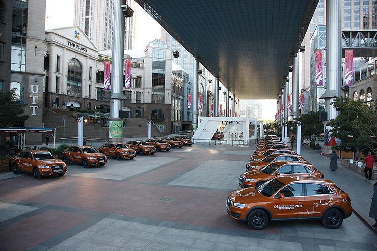 Audi Q3 Trans China Tour 2011 Tag 1