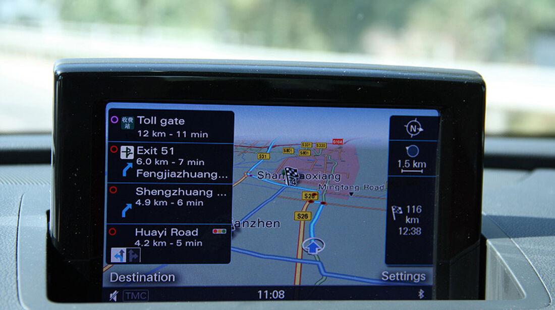 Audi Q3 Trans China Tour 2011 Tag 2
