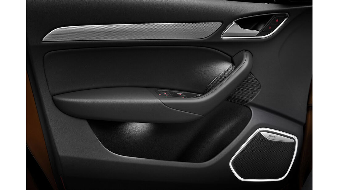 Audi Q3, Tür-Innenseite