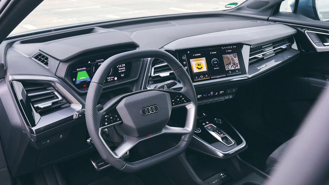 Audi Q4 50 E-Tron Quattro, Interieur