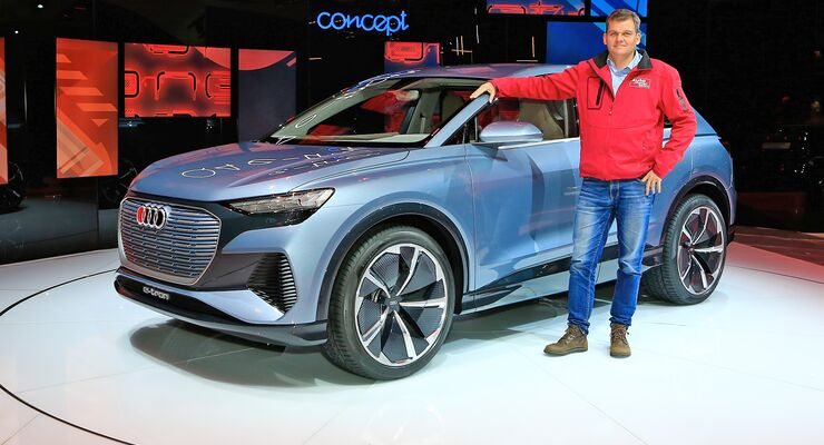 Audi Q4 Concept Genf 2019