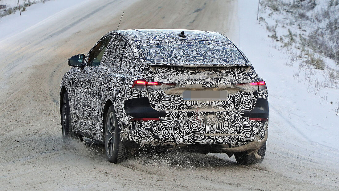 Audi Q4 E-Tron Sportback Erlkönig