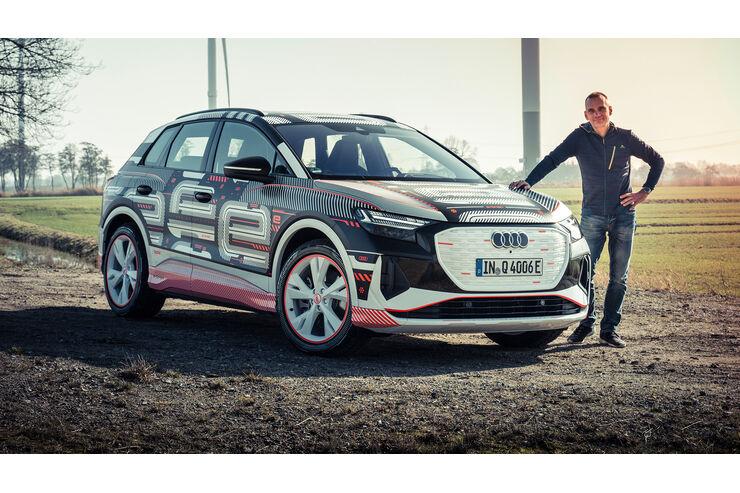 Audi Q4 E-Tron: Erste Fahrt im neuen Elektro-SUV   AUTO MOTOR UND SPORT - auto motor und sport