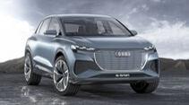 Audi Q4 e-tron, Exterieur
