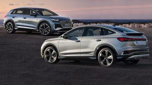 Audi Q4 und Sportback Collage Aufmacher