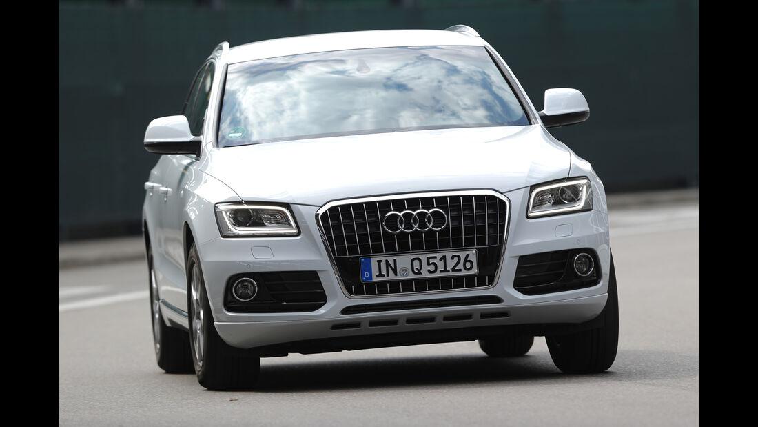Audi Q5 2.0 TDI, Frontansicht