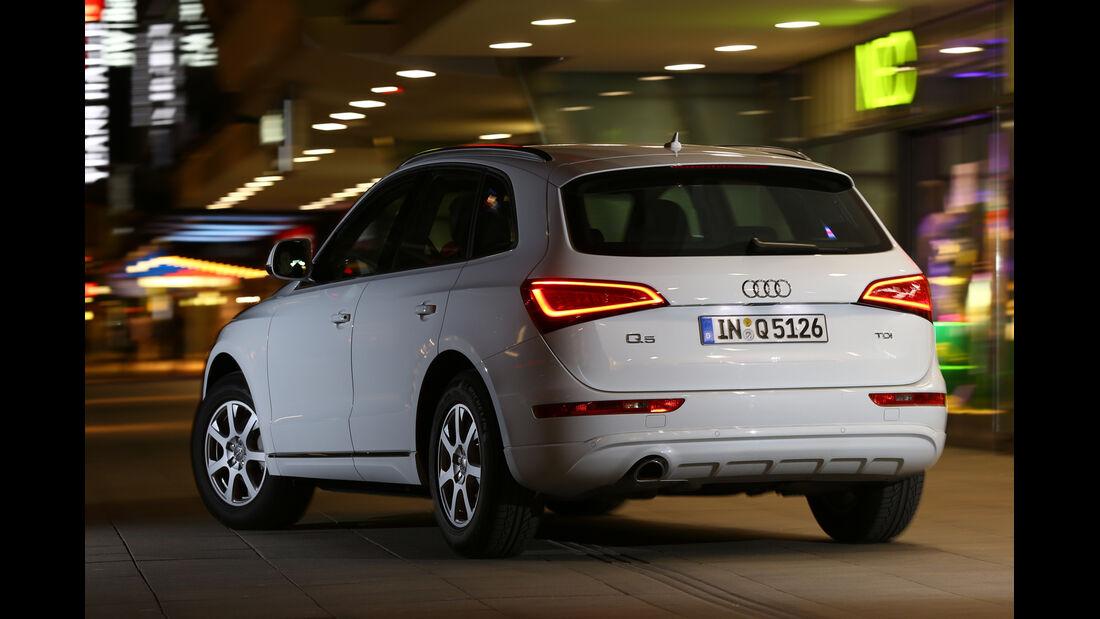 Audi Q5 2.0 TDI, Heckansicht