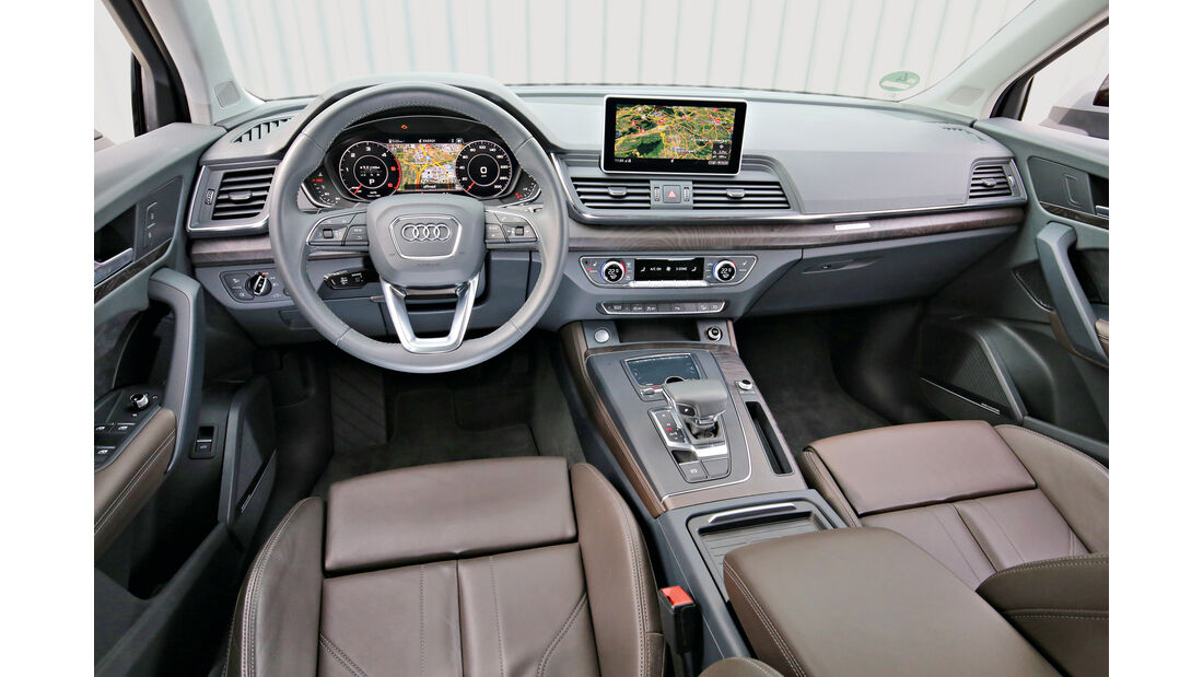 Audi Q5 2.0 TDI Quattro, Cockpit