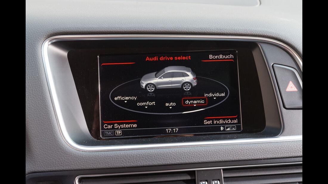 Audi Q5 2.0 TDI Quattro, Display, Infotainment