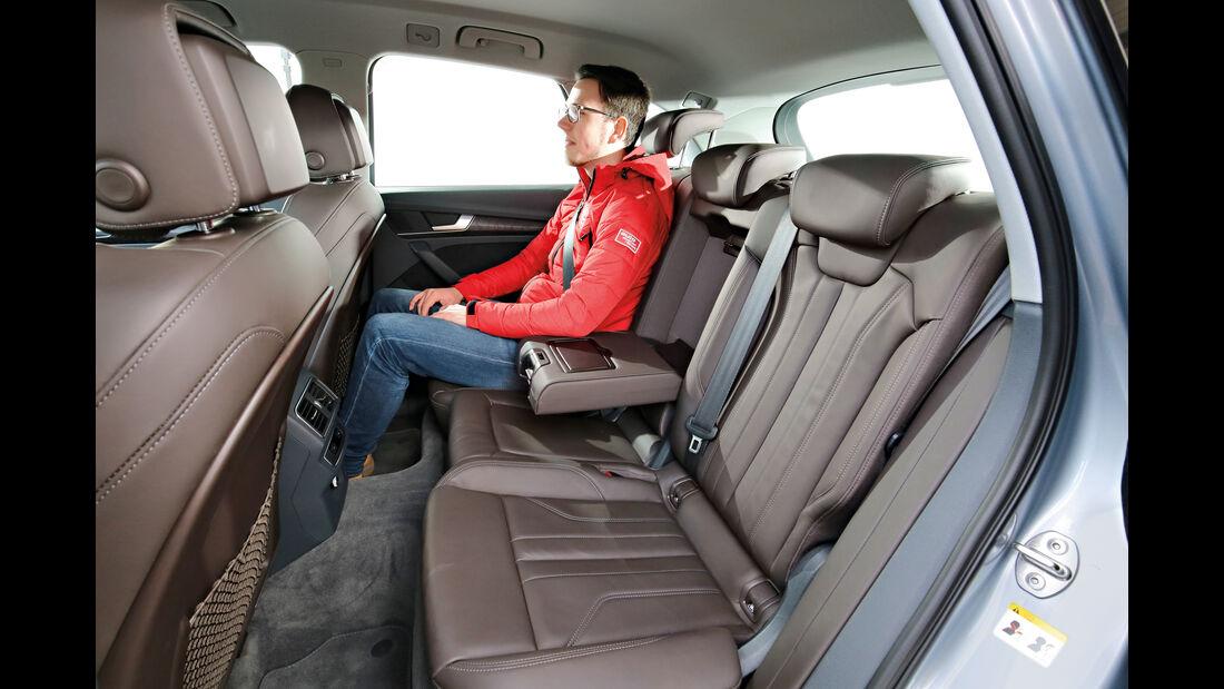 Audi Q5 2.0 TDI Quattro, Fondsitze