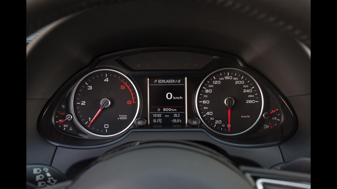 Audi Q5 2.0 TDI Quattro, Rundinstrumente