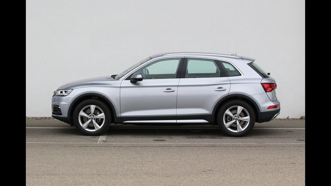 Audi Q5 2.0 TDI Quattro, Seitenansicht