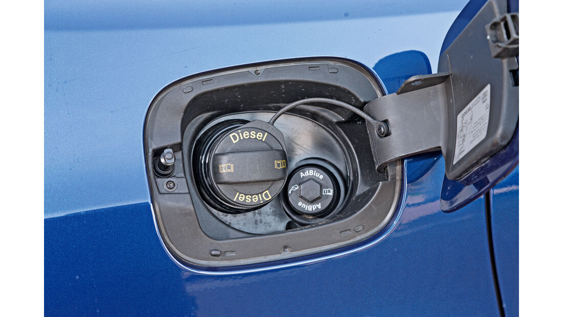 Audi Q5 2.0 TDI Quattro, Tankdeckel