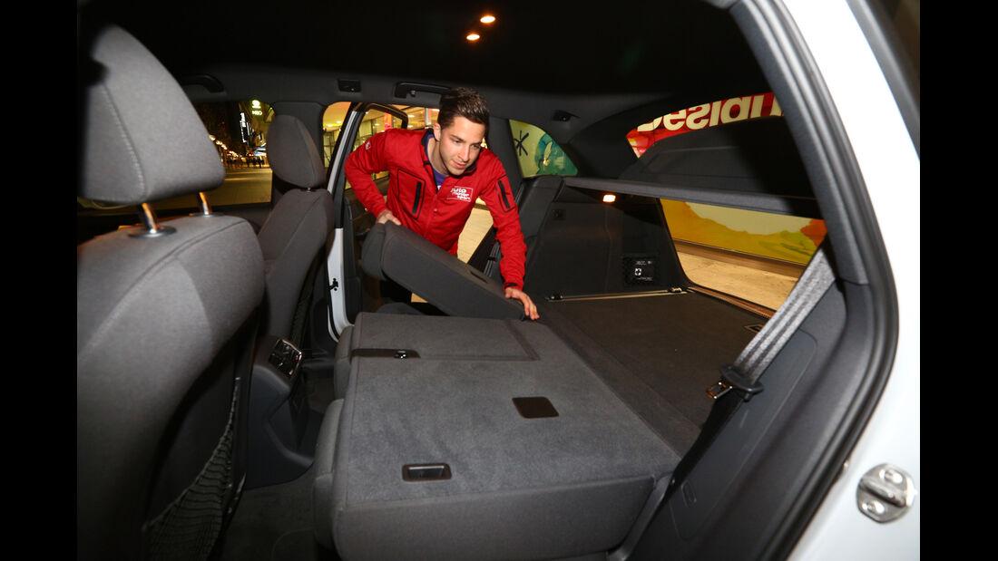 Audi Q5 2.0 TDI, Rücksitz, Umklappen