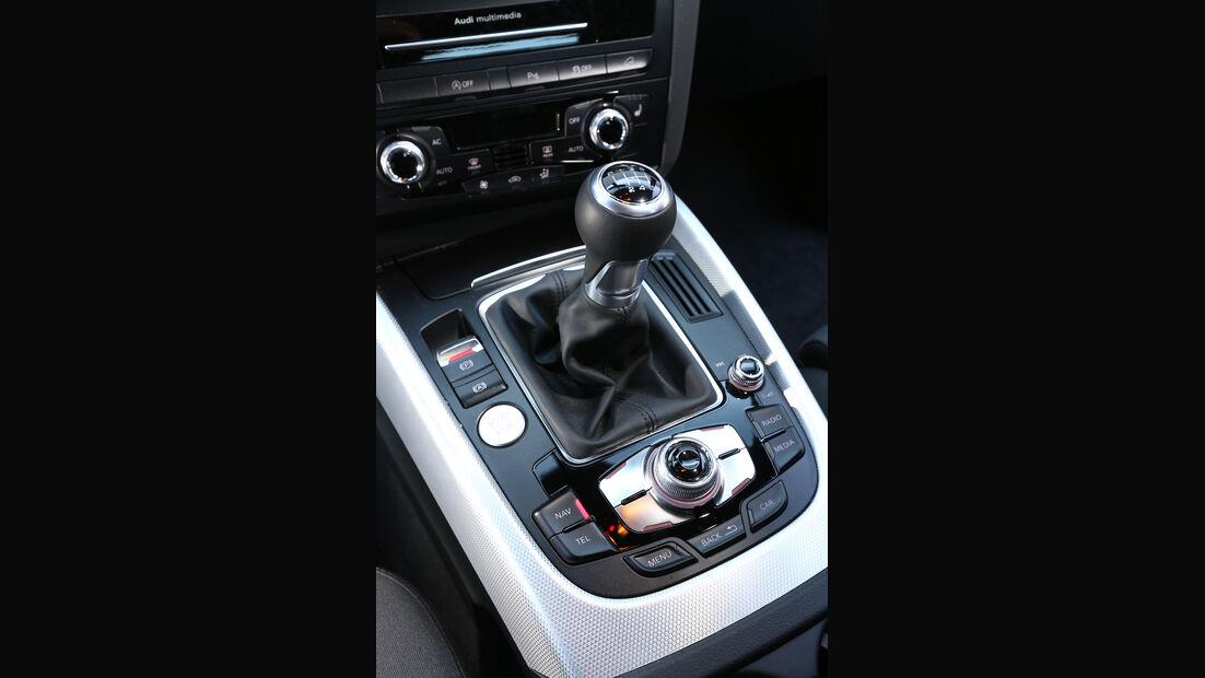 Audi Q5 2.0 TDI, Schalthebel, Schaltknauf