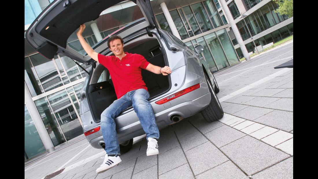 Audi Q5 2.0 TFSI, Alex Bloch, Heckklappe