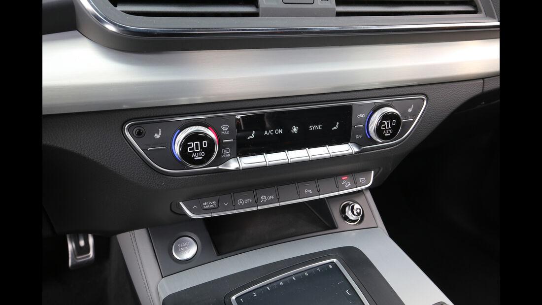 Audi Q5 2.0 TFSI Quattro, Bedienelemente