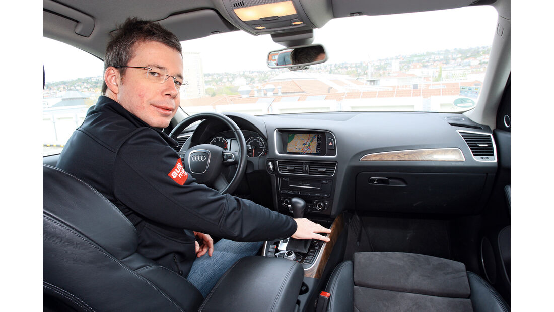 Audi Q5 2.0 TFSI Quattro, Cockpit, Dirk Gulde