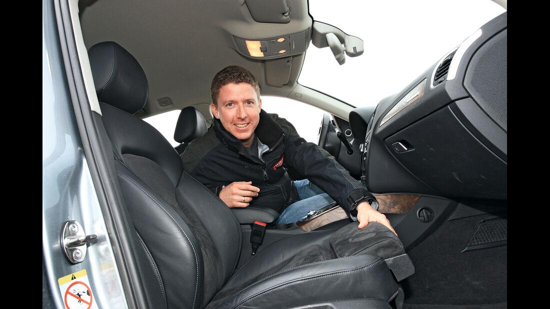 Audi Q5 2.0 TFSI Quattro, Cockpit, Jens Dralle