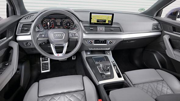 Audi Q5 2.0 TFSI Quattro, Cockpit