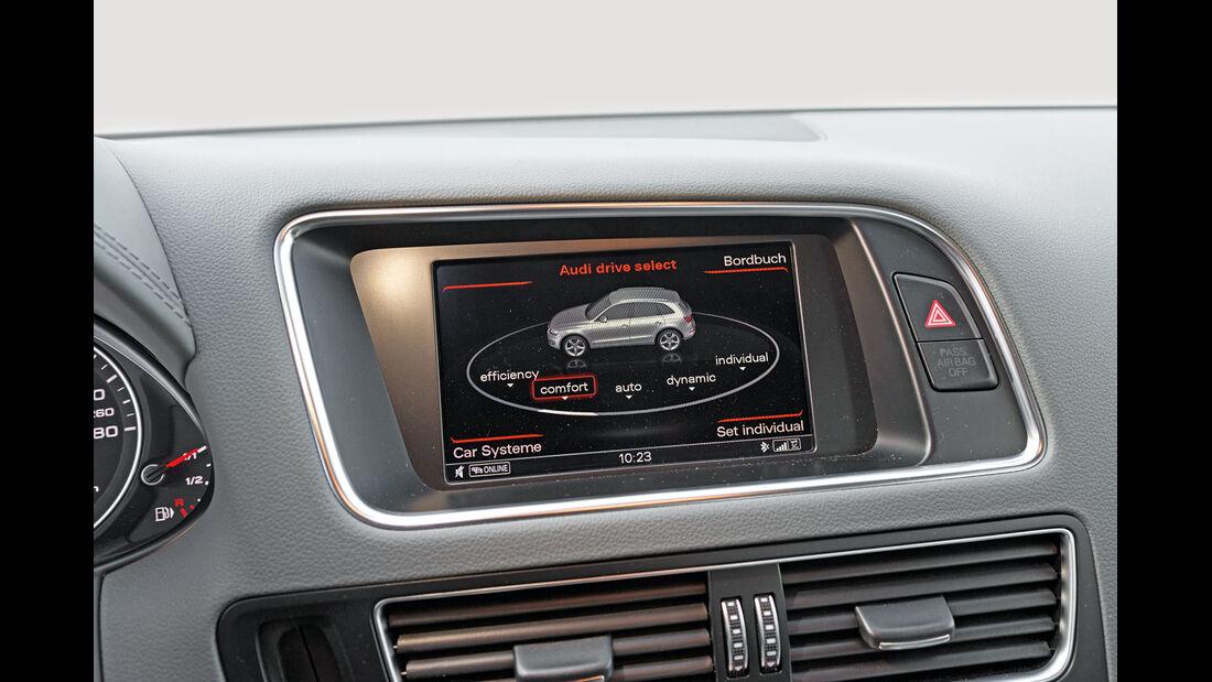 Audi Q5 2.0 TFSI Quattro, Display, Infotainment