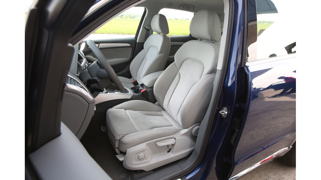 Audi Q5 2.0 TFSI Quattro, Fahrersitz