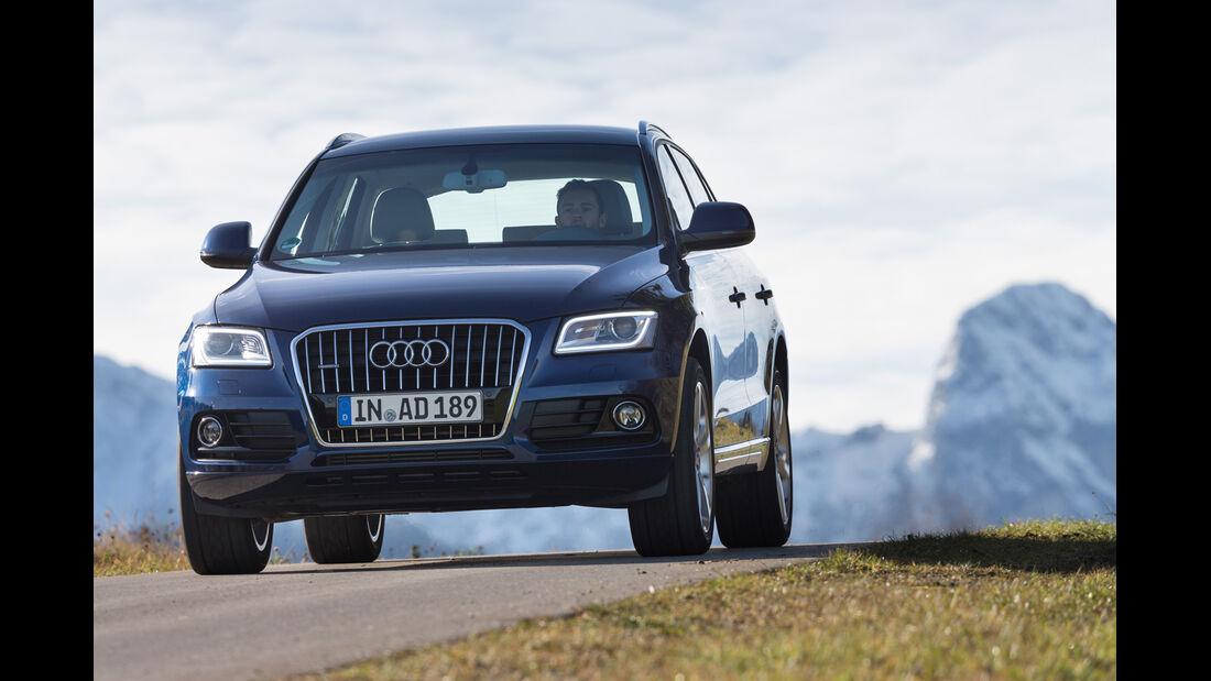 Audi Q5 2.0 TFSI Quattro, Frontansicht