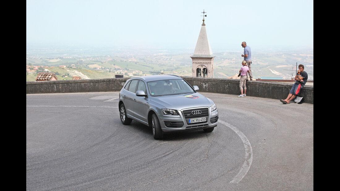 Audi Q5 2.0 TFSI Quattro, Frontansicht, San Marino