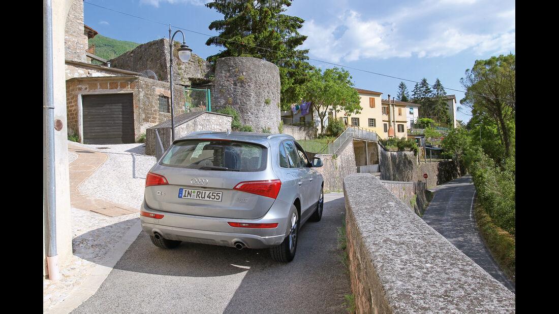 Audi Q5 2.0 TFSI Quattro, Heck, Italien