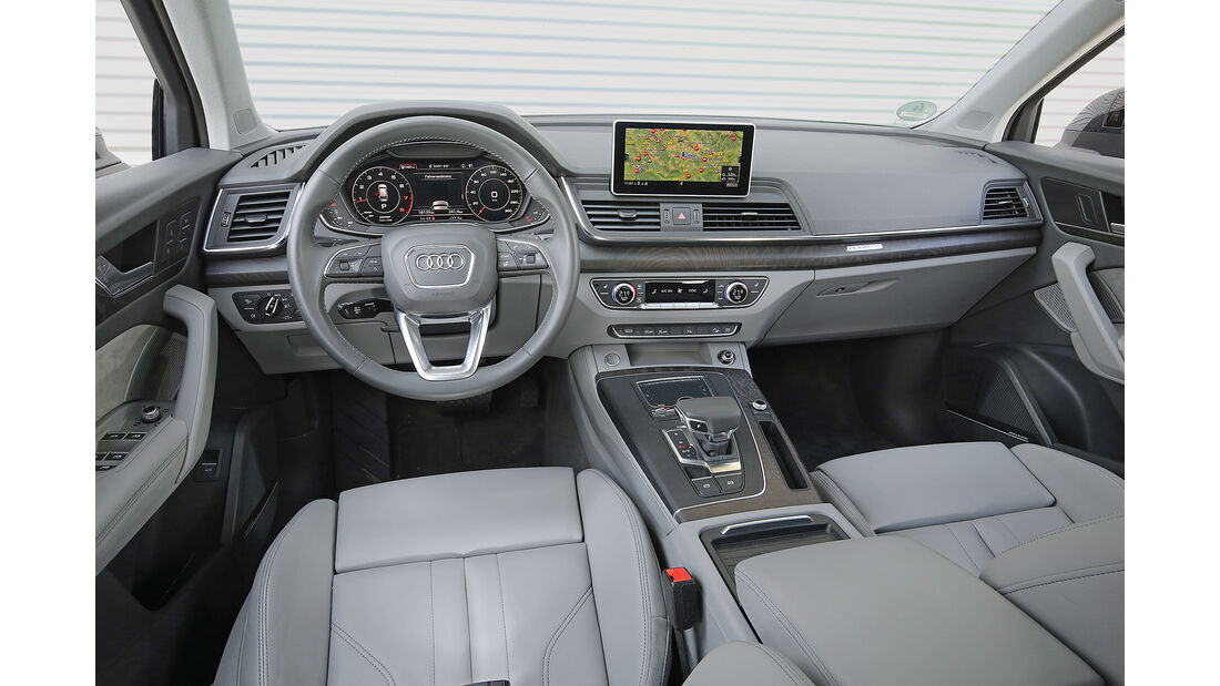 Audi Q5 2.0 TFSI Quattro Interieur