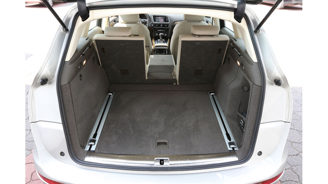 Audi Q5 2.0 TFSI Quattro, Kofferraum, Ladefläche
