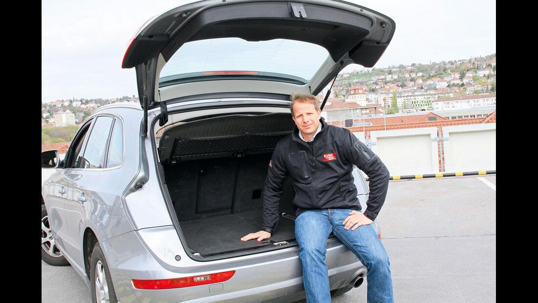 Audi Q5 2.0 TFSI Quattro, Kofferraum, Michael von Maydell