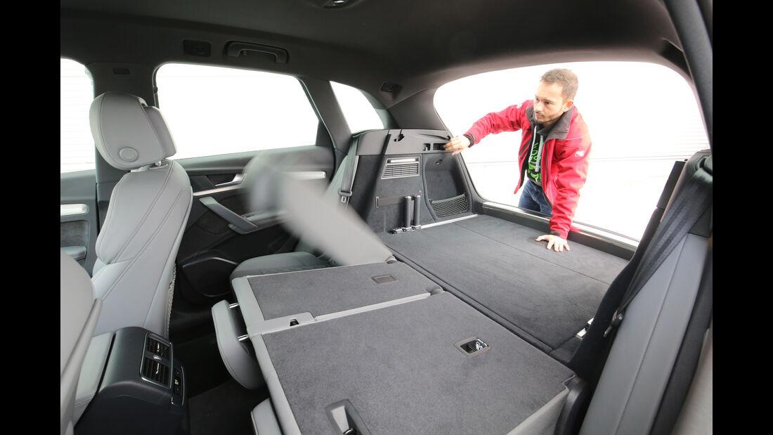 Audi Q5 2.0 TFSI Quattro, Laderaum