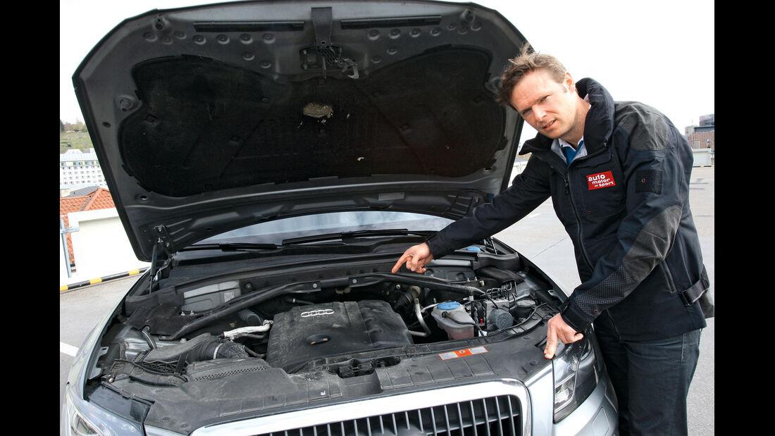 Audi Q5 2.0 TFSI Quattro, Motor, Alexander Bloch