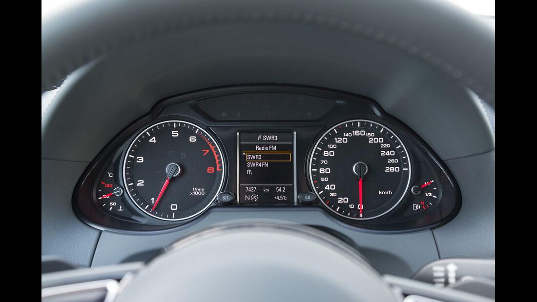 Audi Q5 2.0 TFSI Quattro, Rundinstrumente