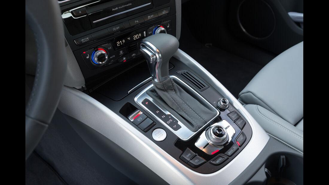 Audi Q5 2.0 TFSI Quattro, Schalthebel