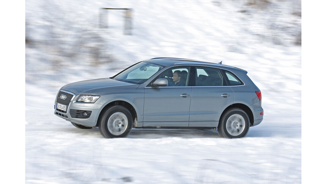 Audi Q5 2.0 TFSI Quattro, Seitenansicht, Tirol
